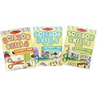 Melissa & Doug Scissor Skills Activity Pad Bundle - Safari, Sea Life and Activities