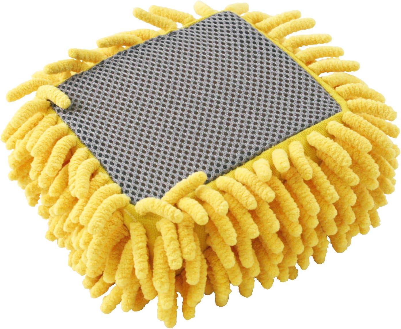 Carrand 45119 2-in-1 Microfiber Chenille Square Sponge
