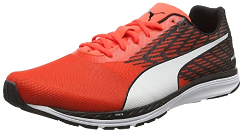 9497ca1a6da Puma Men s Speed 100 R Ignite Red Running Shoes - 10 UK India (44.5