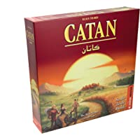 Catan Base Game | 3-4 Players | Official Version | English and Arabic Language | Family Game For Ages 10+ | Board Game…