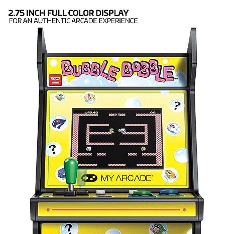 My Arcade Bubble Bobble Micro Player - Collectible Mini Arcade Machine