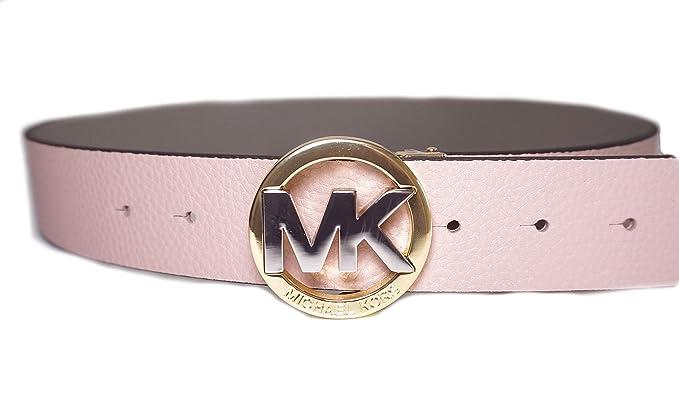 disponibilità nel Regno Unito 686dd c389b Michael Kors Cintura - Donna Rosa Rosé-pink Taglia: Amazon.it ...