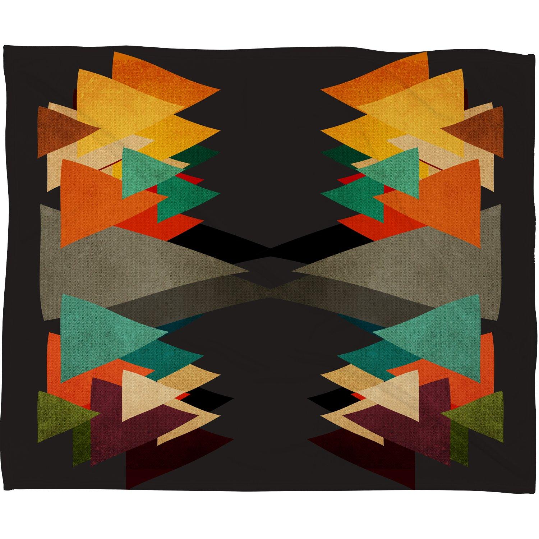Deny Designs Viviana Gonzalez Textures Abstract 16 Fleece Throw Blanket, 50 x 60