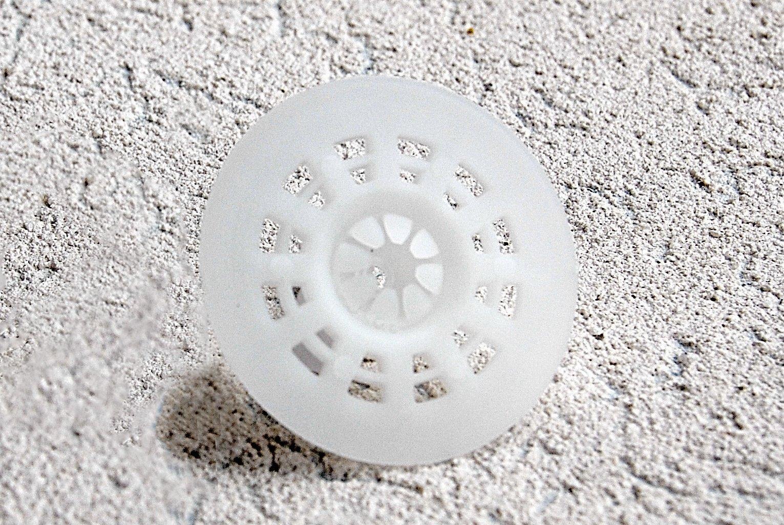 2'' Foam Fastener Washer, 1000 Count