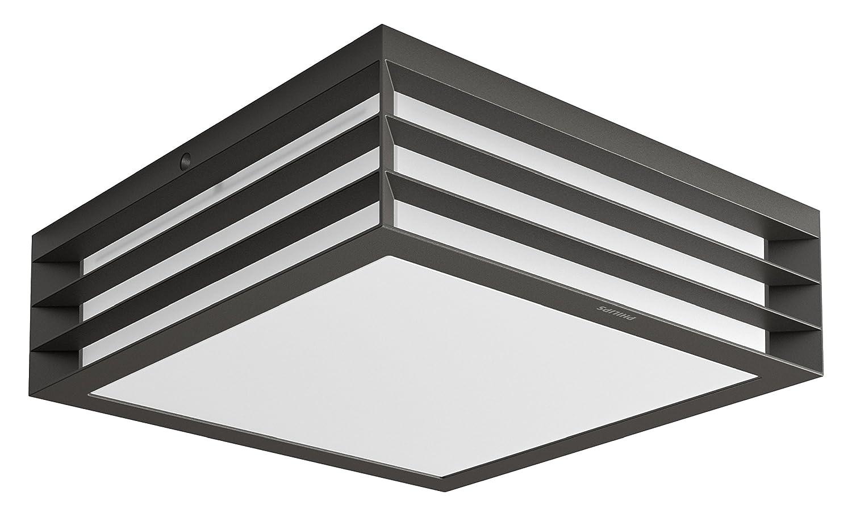 Plafoniera Da Esterno Grigia : Philips moonshine lampada da soffitto esterno grigio scuro