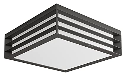 Plafoniere Esterno Philips : Philips moonshine lampada da soffitto esterno grigio scuro