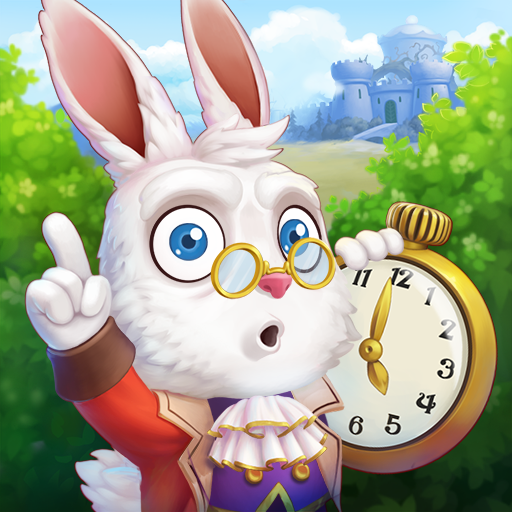 Alice In Wonderland Tutorial (WonderMatch TM: free Match 3 Puzzle game-Swap jewels & candy in Alice's new 3 in a row matching Adventure 2020 with great story and cool graphics! Make a journey to)