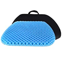 FOMI Premium All Gel Orthopedic Seat Cushion Pad for Car, Office Chair, Wheelchair...