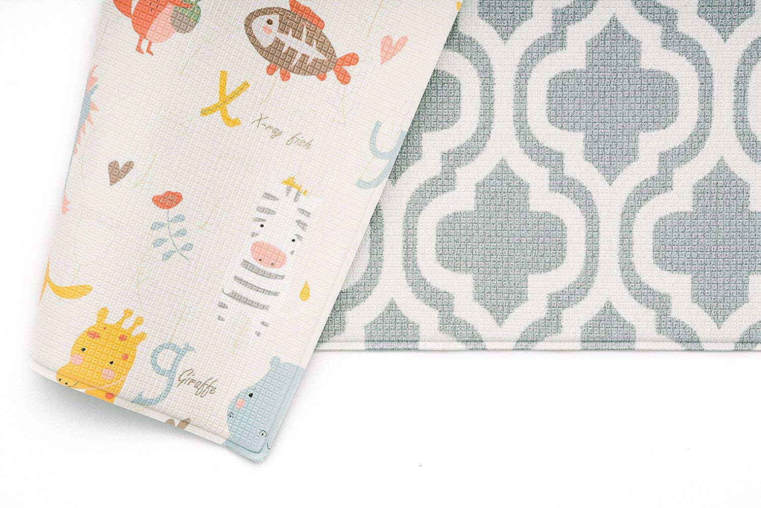 Large, Zig Zag - Black Haute Collection Baby Care Play Mat