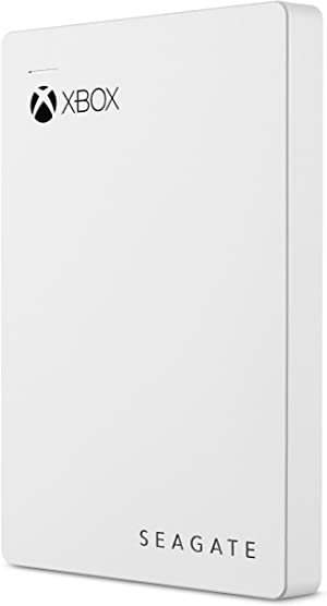 Seagate Game Drive For Xbox 2TB External Hard Drive Portable HDD, USB 3.0 – White, Designed For Xbox One, 1 Month Xbox Game Pass Membership, 1 year Rescue Service (STEA2000417)