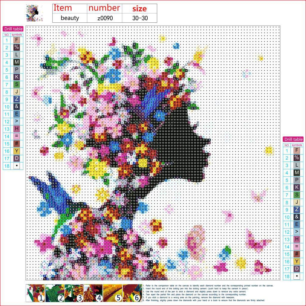 5D Diamond Embroidery Painting Cross Stitch Kit Home Wall Bedroom Decor Lot YLL