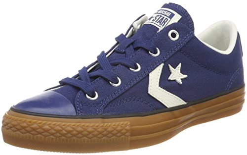 Converse Star Player Ox NavyEgretHoney, Baskets Mixte Adulte