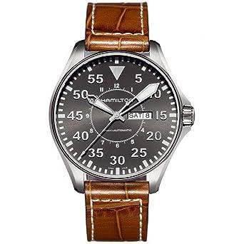 Image Unavailable. Image not available for. Color  Hamilton Khaki Aviation  Pilot Men s Watch ... f19b004dd8