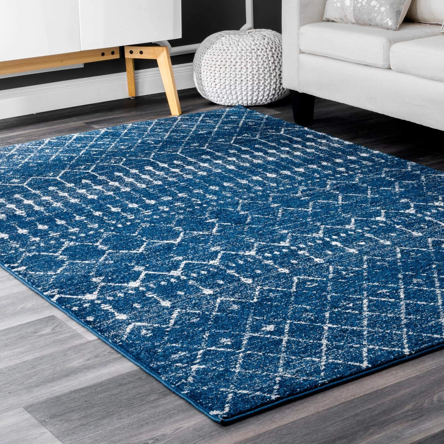 nuLOOM Moroccan Blythe Accent Rug, 2' x 3', Blue