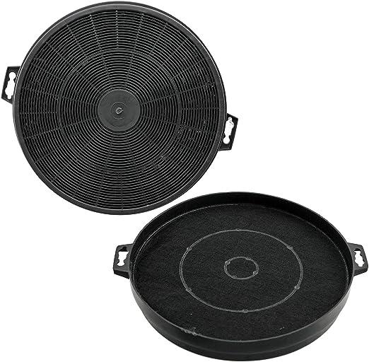 SPARES2GO S1 tipo de filtros de carbón para campanas extractoras Baumatic, pack de 2 unidades, 32 x 210 mm): Amazon.es: Hogar