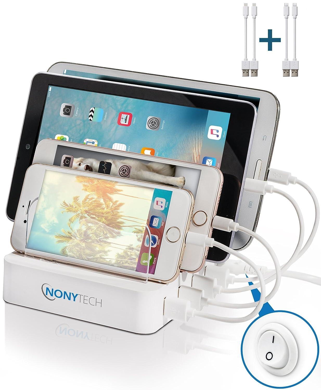 Amazon.com: NONYTECH USB Charging Station–Universal Fast Multiple ...