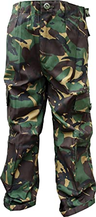 9e19d09252 Contact Left Limited Kids Army DPM Camo Camouflage Combat Trousers (3-4  Years)