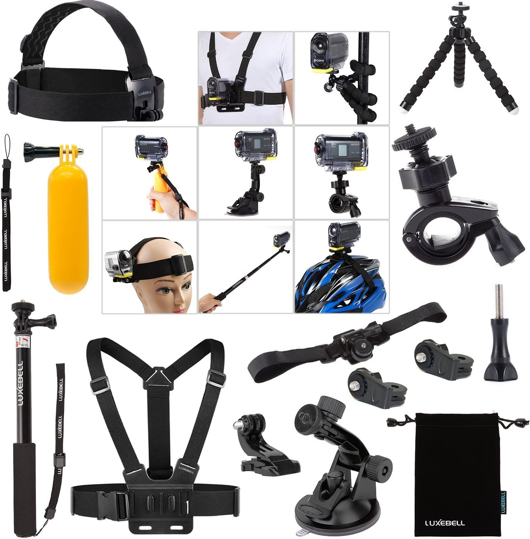 Luxebell Zubehör Kit Für Sony Action Cam Hdr As15 Kamera