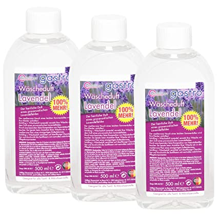 Gastro, aroma de la ropa Perfume (3 unidades, X 500 ml)