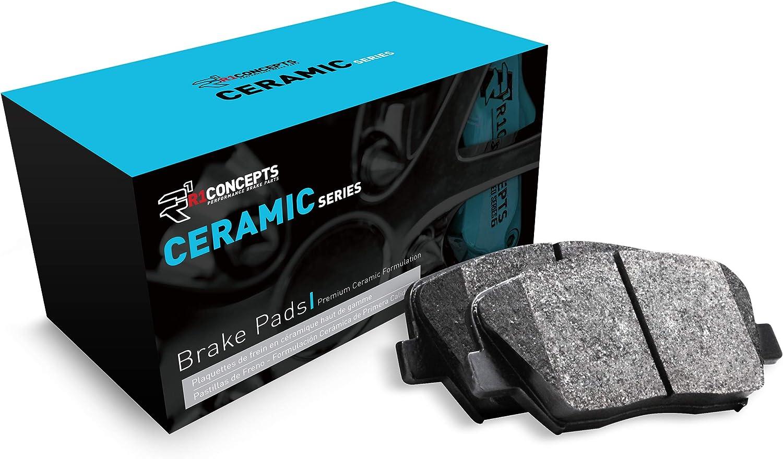 Front R1 Concepts Ceramic Series Brake Pad