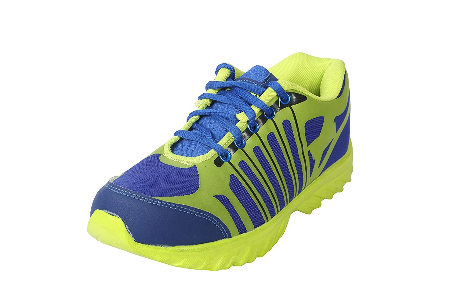 BACCA BUCCI MEN MULTICOLOR PU AND MESH SPORT SHOES