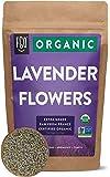 Organic Lavender Flowers Dried | Perfect for Tea, Baking, Lemonade, DIY Beauty, Sachets & Fresh Fragrance | 100% Raw…
