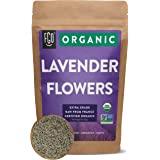 Organic Lavender Flowers Dried | Perfect for Tea, Baking, Lemonade, DIY Beauty, Sachets & Fresh Fragrance | 100% Raw From Fra