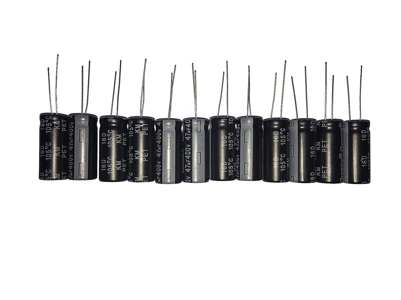 47uF 400V Radial Electrolytic Capacitor 105C