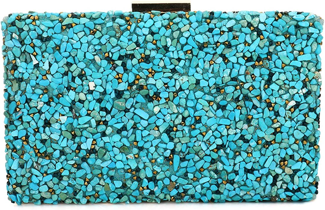 Elegant Sparkling Glitter Evening Clutch Bags Bling Evening Handbag Purses For Wedding Prom Bride