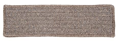 Texture Woven Stair Tread, Rich Brown, Set Of 13