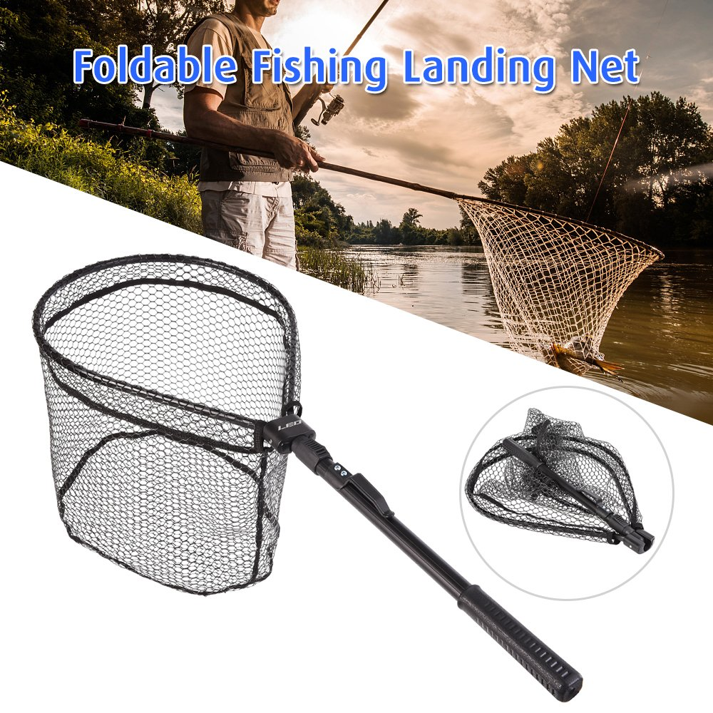 Dam Foldable Big Fish Net 52463 Angelkescher mit Passh/ülle