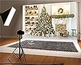 AOFOTO 8x6ft Interior Christmas Pine Tree