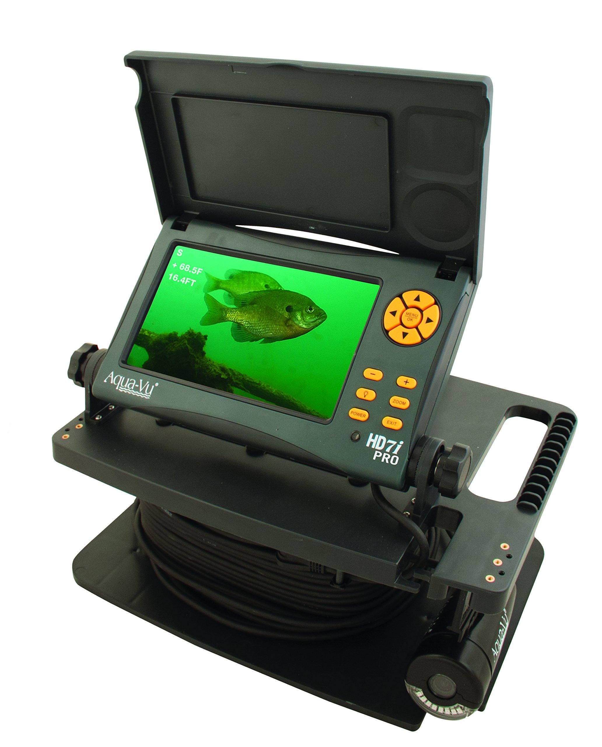 Aqua-Vu HD7i Pro Underwater Camera 7-Inch Color LCD Screen and 75-Feet Cable