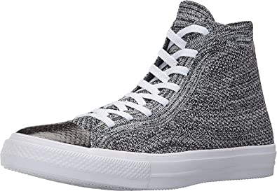 17c298700caf Converse CTAS HI Chuck Taylor All Star Black Wolf Grey White (7 B