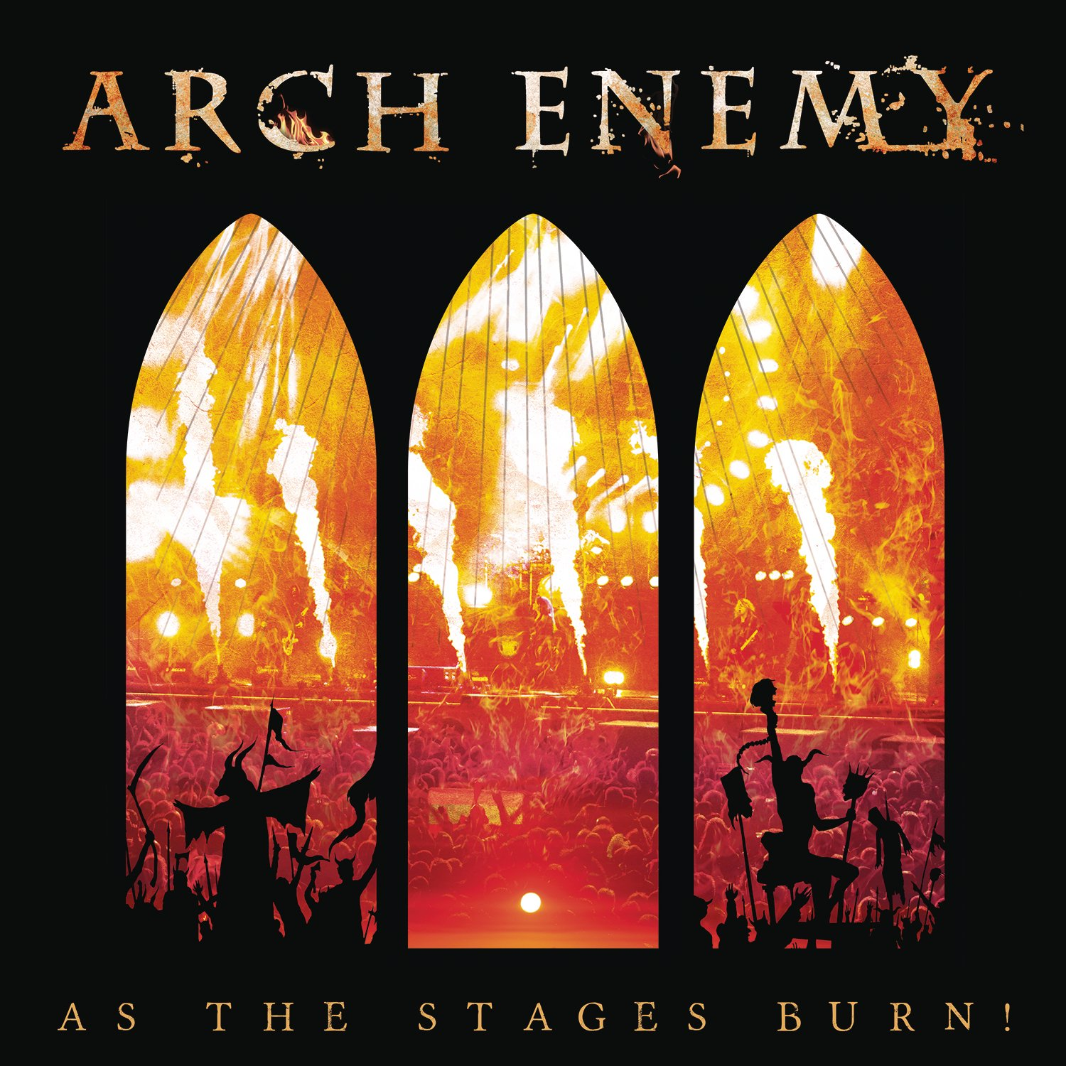 CD : Arch Enemy - As The Stages Burn! (Limited Edition, With DVD, Digipack Packaging, 2 Disc)