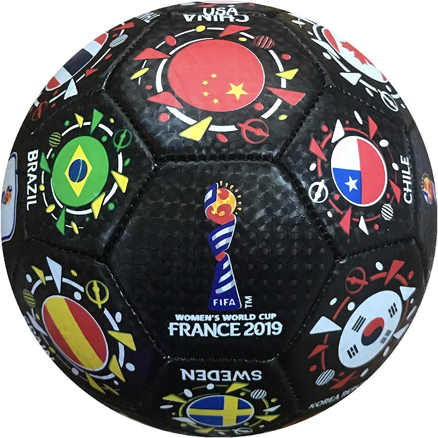 Icon Sports FIFA 2019 Womens World Cup National Orbit Size 2 Mini Soccer Ball