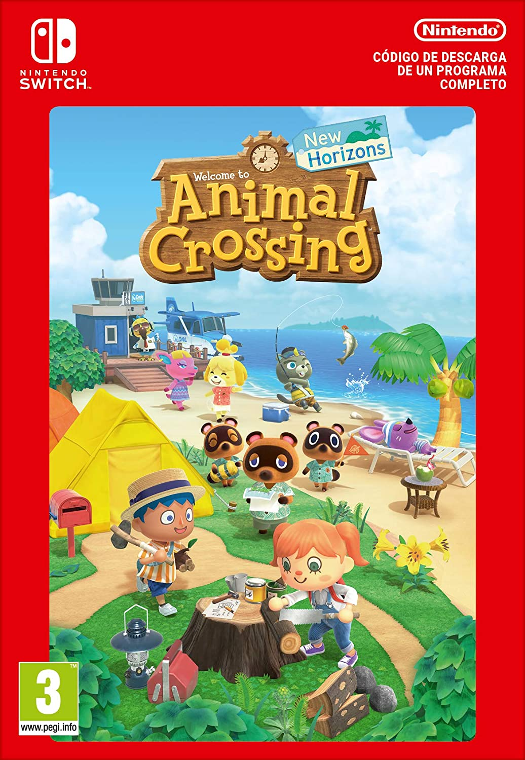 Animal Crossing: New Horizons Estándar | Nintendo Switch - Código de descarga: Amazon.es: Videojuegos