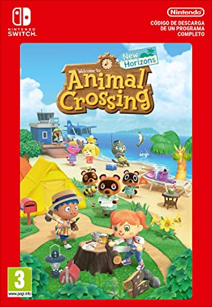 Animal Crossing: New Horizons Estándar | Nintendo Switch - Código ...
