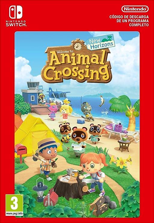 Animal Crossing: New Horizons Estándar | Nintendo Switch - Código de descarga: Amazon.es: Videojuegos