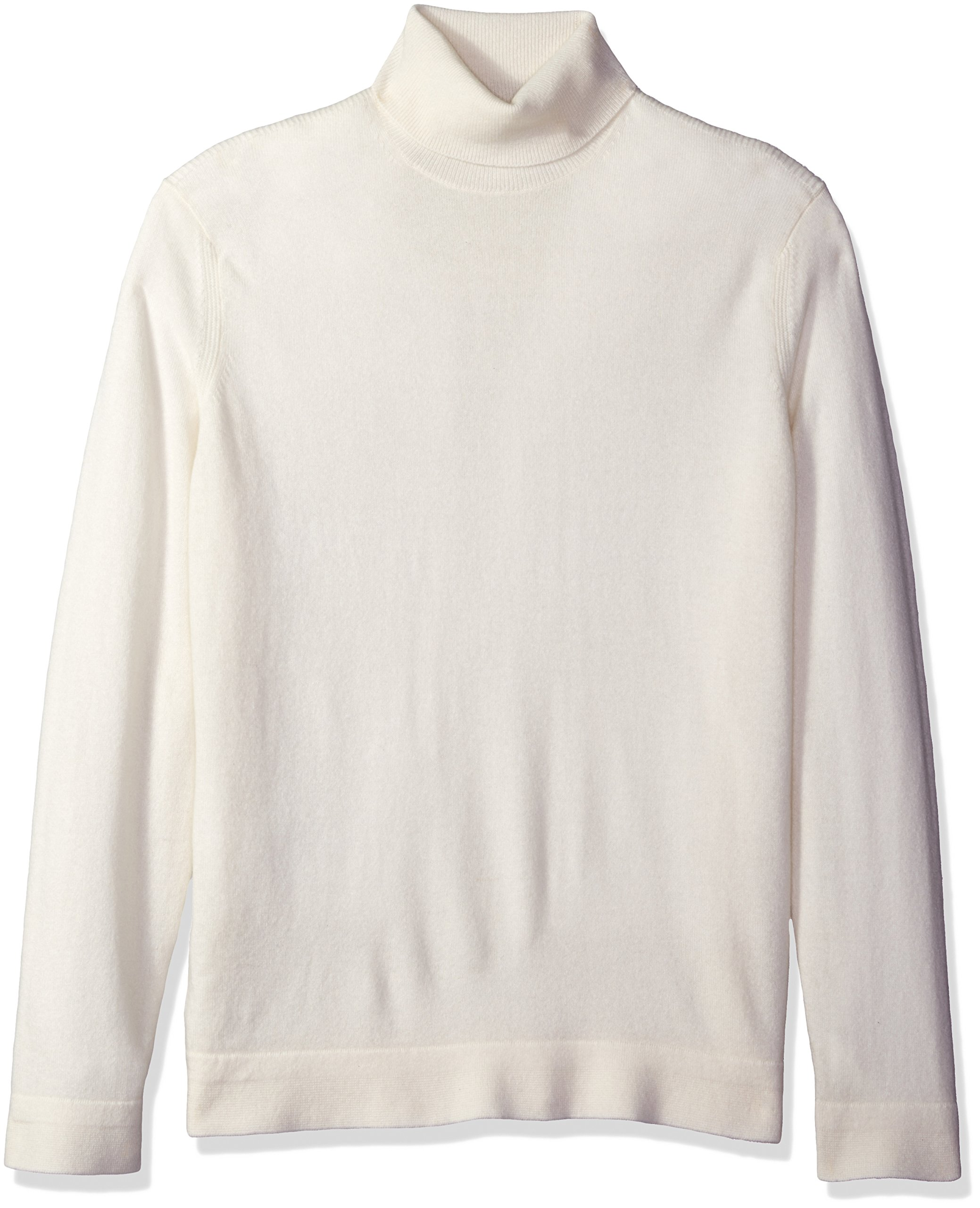 Theory Men's Donners Cashmere Turtleneck, Mists, Large