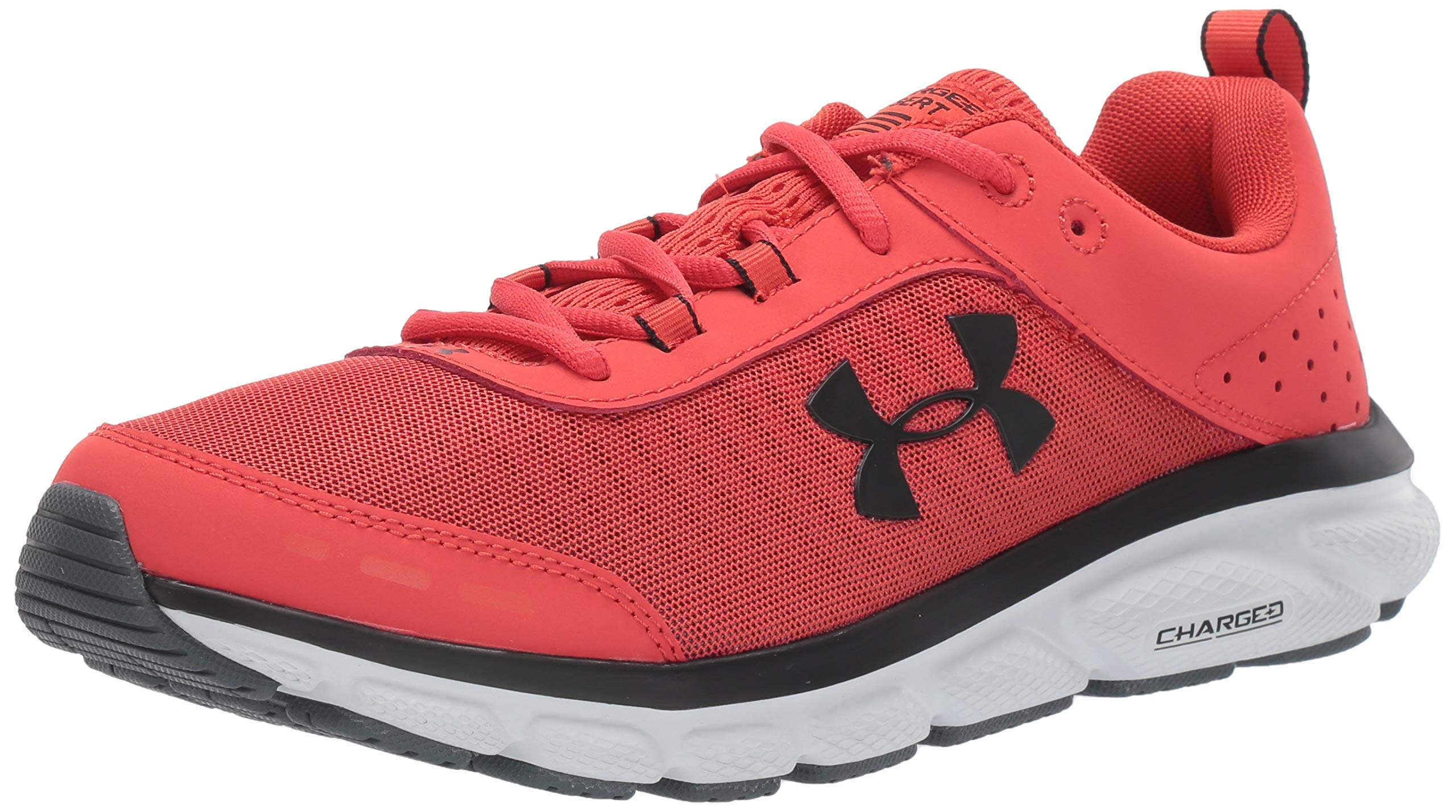 Under Armour Men's Charged Assert 8 Running Shoe, Martian Red (601)/Gray Flux, 10 by Under Armour