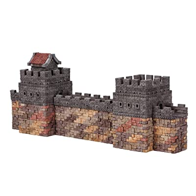 Wise Elk Toy Great Wall of China Construction Set, Real Plaster Bricks, Gypsum Reusable Building kit, 2550 pcs, Educational Gift: Toys & Games
