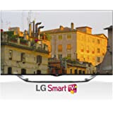 LG Electronics 55LA8600 55-Inch Cinema Screen 3D 1080p 240Hz LED-LCD HDTV with Smart TV, Built-In Camera and Four Pairs of 3D Glasses (2013 Model)
