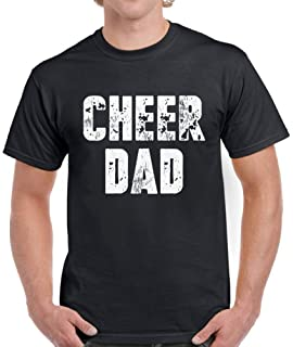 284c94ab Pekatees Cheer Dad Shirt for Men Sports Dad Gifts Funny Dad Shirts Father's  Day