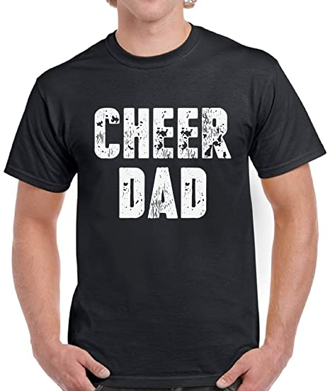 5615a594e Amazon.com: Pekatees Cheer Dad Shirt for Men Sports Dad Gifts Funny Dad  Shirts Father's Day: Clothing