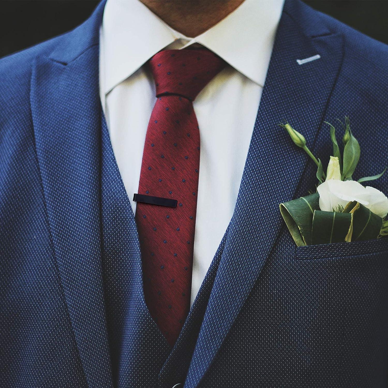 Pinza para sujetar corbatas de HooAMI, sujetadora de acero ...