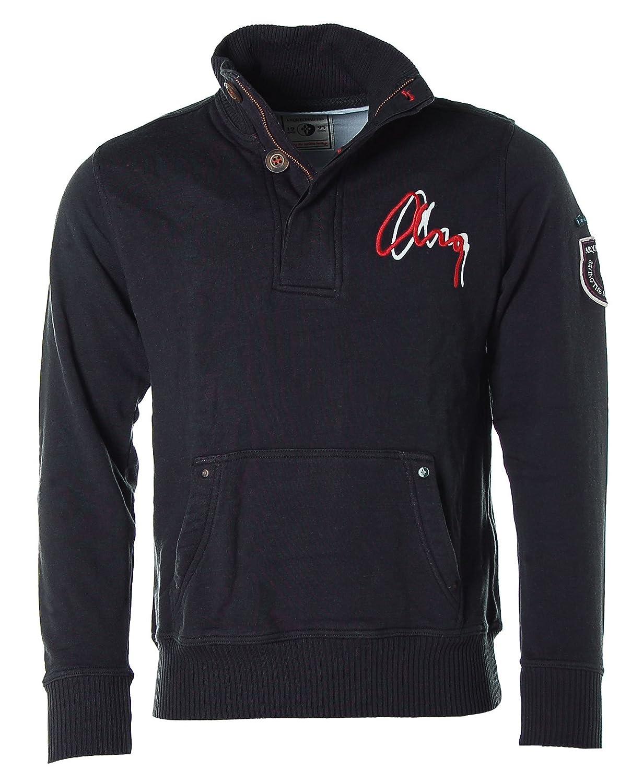 ARQUEONAUTAS Herren Sweatshirt Sweater Troyer Stehkragen