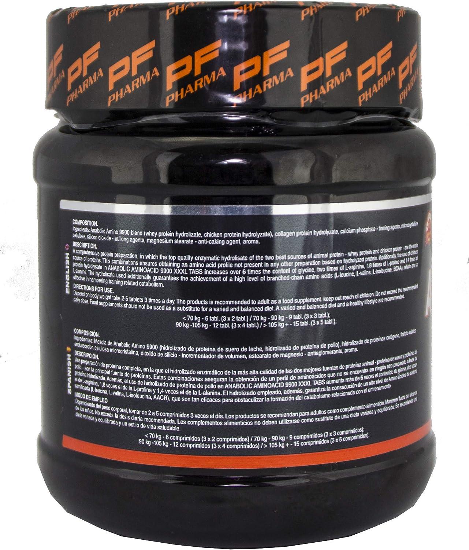 AMINO 9900 | P&F PHARMA - 325 tabs - Aminoácidos esenciales masticables en tabletas