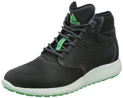 7f826489fde6 ADIDAS D ROSE LAKESHORE BOOST HI Mens Grey Green Trainers Shoes C77493 (UK 9