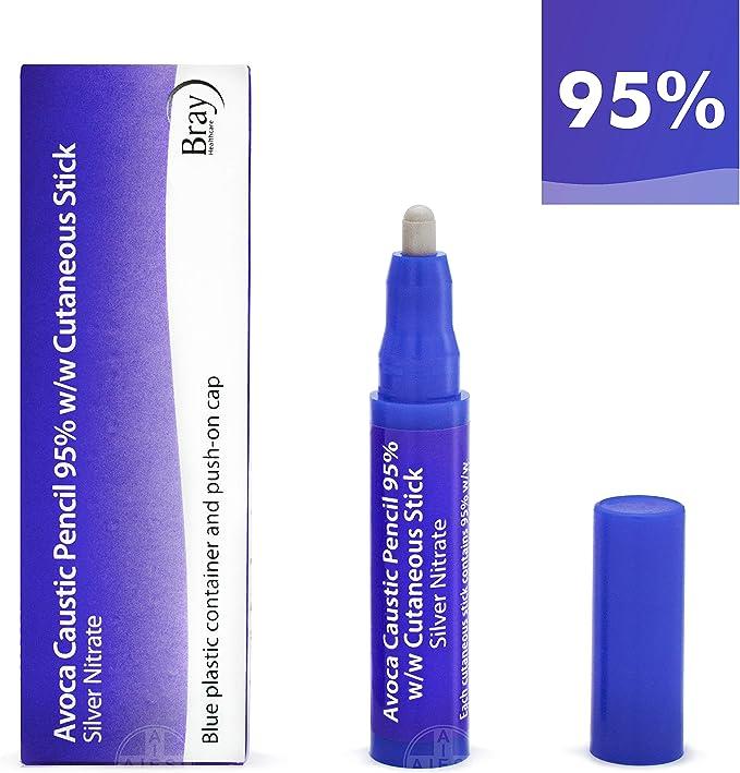 AVOCA Lápiz Cáustico de Nitrato de Plata al 95% para eliminar ...
